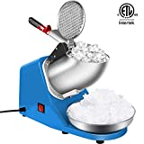 VIVOHOME Electric Ice Shaver Snow Cone Maker Machine Silver 143lbs/hr...