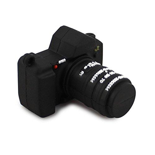 kingko® Einzigartige Kamera geformt USB 2.0 Flash-Laufwerk Memory Stick Speicher-Festplatte Digital U Disk (32GB)