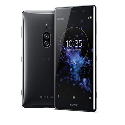 Sony Xperia XZ2 Premium Dual-SIM Chrome Black Android 8 Smartphone (Generalüberholt)