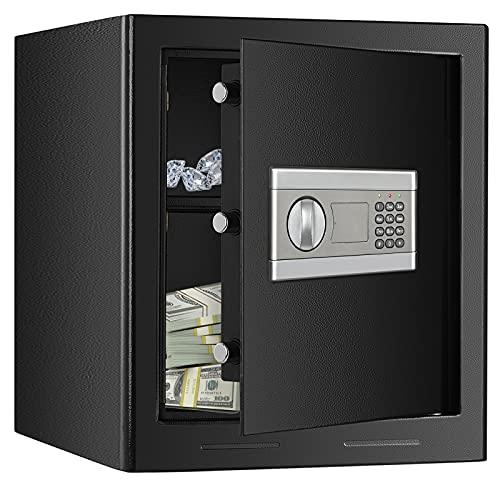 Kacsoo 1.53Cub Fireproof Safe Cabinet Security Box, Digital...