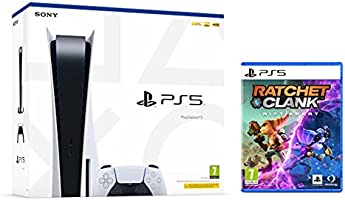 PS5 Console Sony PlayStation 5 - Standard Edition, 825GB SSD, 60FPS, 4K, HDR (Avec lecteur) + Ratchet & Clank: Rift...