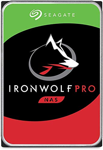 Seagate IronWolf Pro, NAS interne Festplatte 16 TB HDD, 3.5 Zoll, 7200 U/Min, CMR, 256 MB Cache, SATA 6 Gb/s, silber, inkl. 3 Jahre Rescue Service, ST16000NE000