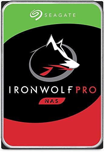 Seagate IronWolf Pro 16 TB HDD, NAS Festplatte intern (8,9 cm (3,5 Zoll), 7200 U/Min, CMR, 256 MB Cache, SATA 6 Gb/s, silber) Modellnr.: ST16000NE000