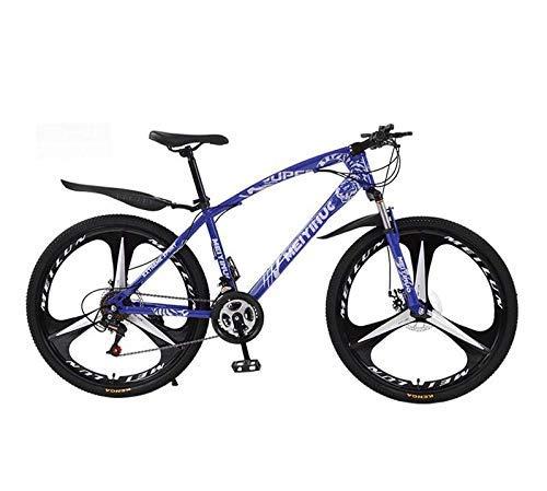 LFEWOZ Full Suspension Bici di Montagna della Bicicletta per Adulti, Strada di Guida MTB Biciclette Biciclette Spiaggia Motoslitta Biciclette Cruiser in età Uomini E Donne