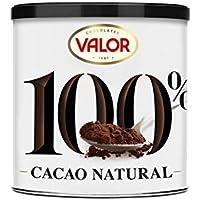 Chocolates Valor, Cacao Puro Natural 100%  250 g 1 unidad