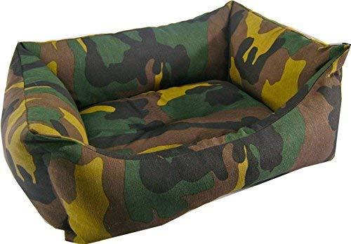 iOn 1348 Cama Cuna para Perro y Gato, 50x 40x 16 cm, Diseño Camuflaje