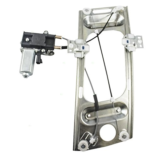 Front Left Driver Side Power Lift Window Regulator with Motor fit for 1997 1998 1999 2000 2001 2002 Pontiac Grand Prix & 2000 2001 2002 2003 2004 2005 2006 2007 Chevrolet Monte Carlo Coupe 2-Door