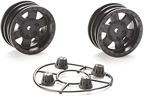 Axial Racing AX31094 Axial 1.9 schwarz Rock CRC Wheels (2) by Axial Racing