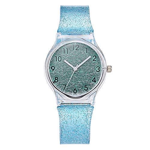 Reloj para Mujer, Moda para Mujer, niña, Verano, Fresco, Color macarrón, Tendencia,...