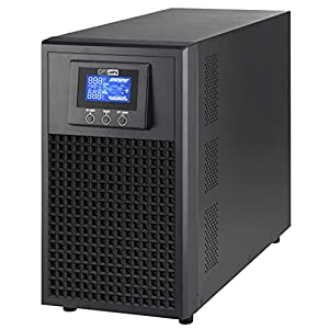OPTI UPS DS3000E On-Line (3000VA, 3000W) Uninterruptible Power Supply, Durable Online Series 8-Outlet Tower, Sinewave…