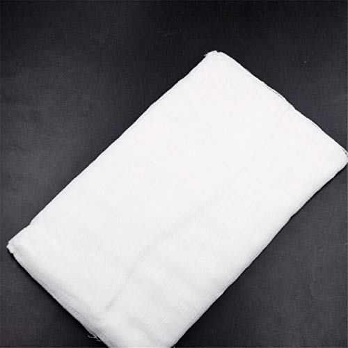 274cm91cm Cheesecloth, 3Pack of Grade 90 100% Cotton Unbleached Cotton Fabric Ultra Fine Muslin Cloths for Butter, Cooking, Strainer, Baking, Hallowmas Decorations