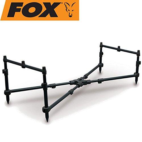 FOX X-Pod Plus - Rod Pod zum Raubfisch- & Karpfenangeln, Rodpod, Rutenauflage, Rutenhalter, Rutenständer, Rutenhalterung