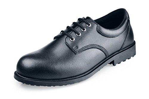 Shoes for Crews Steel Toe Cambridge, Herren Sicherheitsschuhe, Schwarz (Black), 41 EU