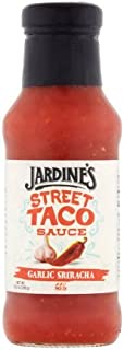 JARDINES TACO SAUCES Garlic Sriracha Street Taco Sauced, 10.5 Ounce