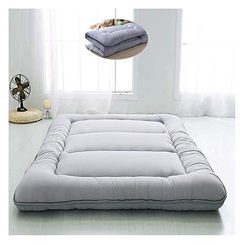 Materassino Tatami spesso, idrorepellente, caldo, pieghevole, per studenti, salotti e futon 120x200cm(47x79inch) d