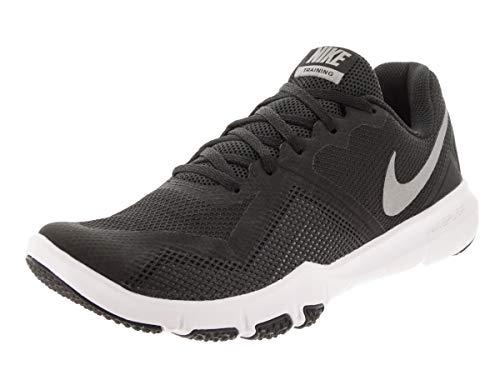 Nike Men's Flex Control II Cross Trainer, Black/Metallic Cool Grey-Cool Grey-White, 6 4E US