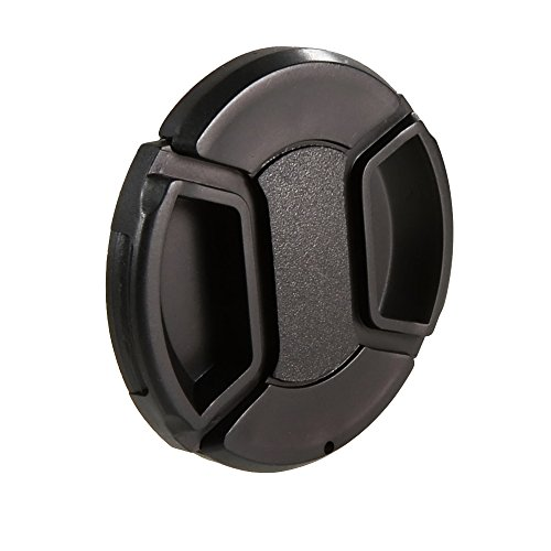 CamDesign 55MM Snap-On Front Lens Cap/Cover Compatible with Canon, Nikon, Sony, Pentax all DSLR lenses