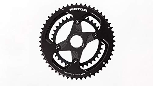 R ROTOR BIKE COMPONENTS Round Ring BCD110x4 44T Inner Black