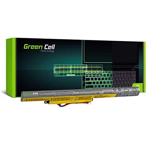 Green Cell Battery for Lenovo IdeaPad P400 TOUCH P500 Z400 Z400A Z400A-IFI Z400A-ITH Z400T Z410 59402591 59402592 59402595 59402601 59402602 59402603 Laptop (2200mAh 14.4V Black)