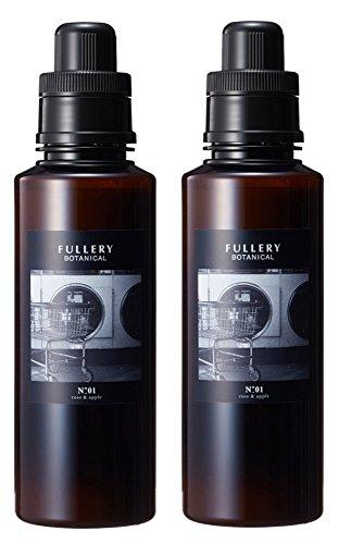 【2本セット】FULLERY BOTANICAL ソフナー 柔軟剤 01 ローズ&アップル 600mL×2本