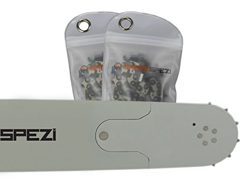 70cm Sägenspezi Schwert-Set Solid Drive mit 2 Vollmeißelketten 3/8
