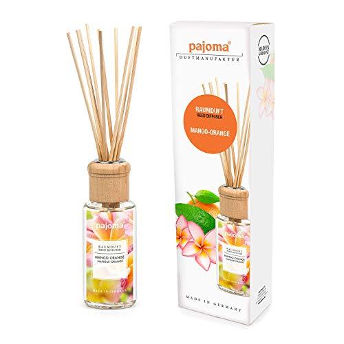 Pajoma Raumduft ''Mango-Orange'' Modern Line inkl. 10 Bambusstäbchen, 1 x 100 ml in schicker Geschenkverpackung