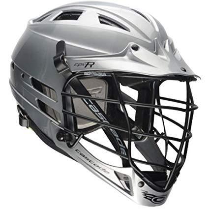 Cascade Silver CPV-R Lacrosse Helmet Black Mask-SM/MED