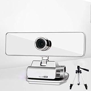 WXFXBKJ 1080p Computer Webcam, Desktop Laptop Free-Drive HD with Microphone, Live USB External Video Conferencing Home Tea...