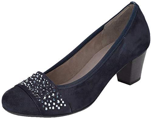 Gabor Damen Pumps, Frauen Elegante Pumps,Best Fitting,Soft & Smart, Court-Shoes Absatzschuhe Abendschuhe stöckelschuhe,Pazifik,39 EU / 6 UK