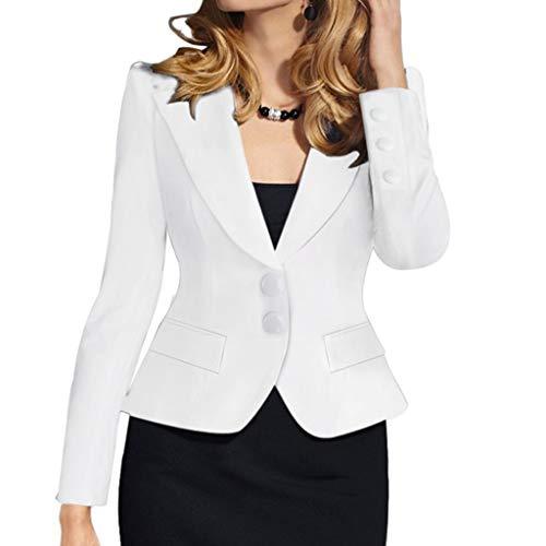 Mujer Elegant Blazers Abrigo Americana Blazer Traje