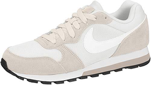 Nike Damen Md Runner 2 Fitnessschuhe, Mehrfarbig (Phantom/White/Light Cream/Particle Beige 011), 41 EU