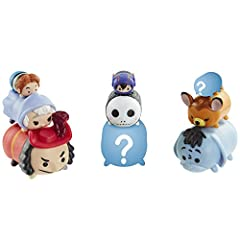 Now you can collect, stack and display your favorite Disney characters in a totally new, whimsical scale Each 9-Pack includes 3 Small, 3 Medium and 3 Large sized Tsum Tsum figures One mystery hidden figure in each pack Style #1 includes: Buzz-L/Capta...