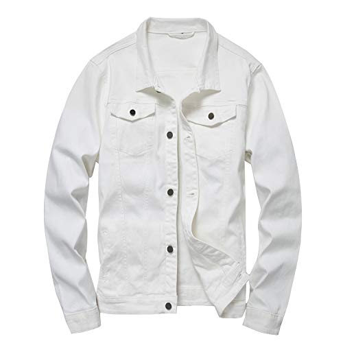 White Jacket Mens Fashion
