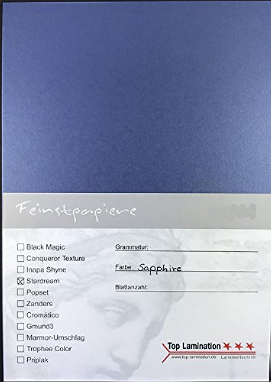 50 Blatt DIN A4 blau Papier metallic 285g 285g 285g m² von Top Lamination - komplett durchgefärbt B01N01UZRU | Bestellungen Sind Willkommen  19e4a4