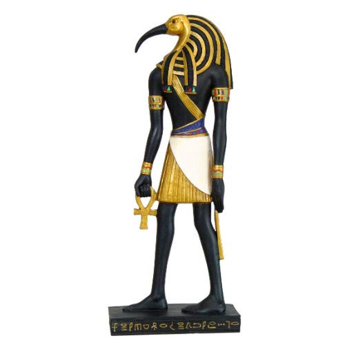 Pacific Giftware Ancient Egyptian Hieroglyph Inspired Egyptian Thoth Collectible Figurine 10