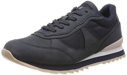 ESPRIT Damen Astro Nylon LU Sneaker, Blau (Navy 400), 40 EU