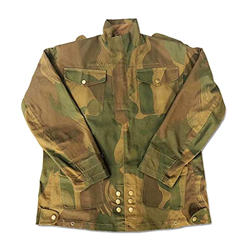 JXS Uniforme de Paracaidista británico, réplica de Uniforme de Oficial de Blusa Denison de 1944, Uniforme Retro británico, Uniforme de Recuerdo de la Segunda Guerra Mundial,L