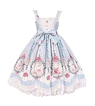 Best pink and blue lolita dress Reviews
