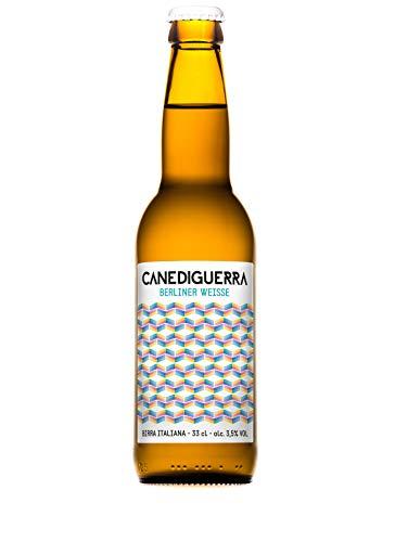 Birra Artigianale CANEDIGUERRA BERLINER WEISSE - 3,8% - BOTT. 33 CL x 12