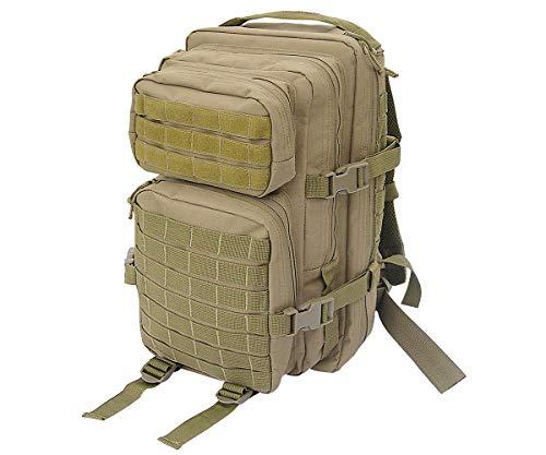 Commando Industries US Rucksack Assault I Daypack 30 Liter (Schwarz)