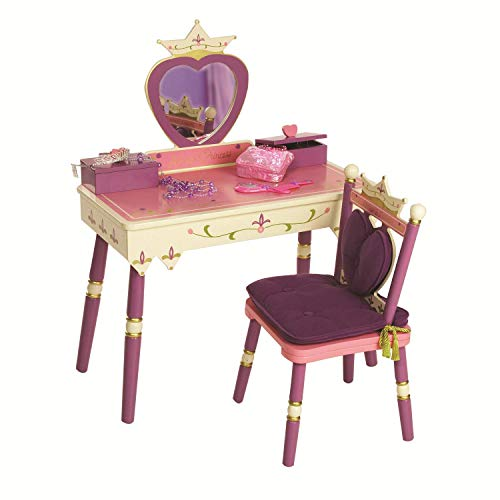 Wildkin Princess Vanity Table & Chair Set