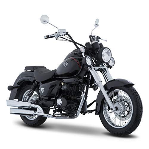 Motocicleta Italika de Chopper – Modelo TC250 Negro
