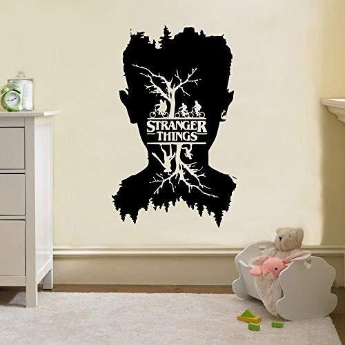 wZUN Wunderschöne Fremde Dinge Aufkleber Vinyl Wallpaper Kinderzimmer Wohnkultur Vinyl Aufkleber 33X54cm