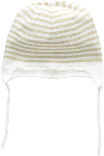 United Colors of Benetton Unisex Baby Cap Kappe, Beige, 3-6 Monate (Herstellergröße: 62)