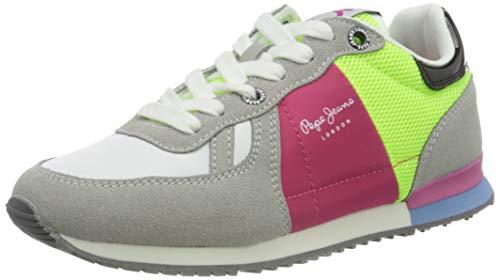 Pepe Jeans M dchen Sydney Trend Girl Ss21 Sneaker, 905light Grey, 33 EU