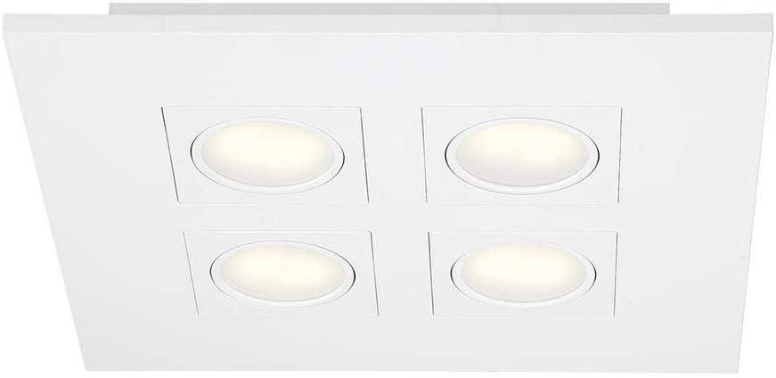 Hampton Bay 27992-HBU 9.2-Watt Lowest price challenge Minneapolis Mall White Flushmount Integrated L LED