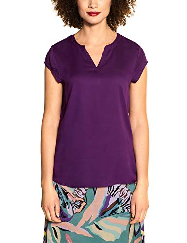 Street One Damen 341902 Bluse, Fairy Violet, 42