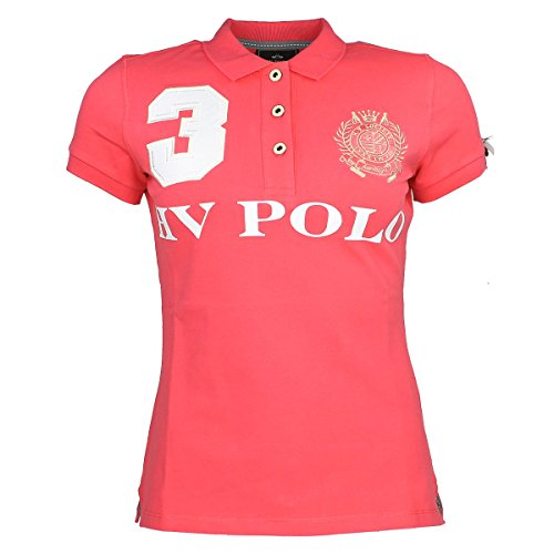 HV Polo Damen Poloshirt FAVOURITAS EQ Raspberry XL