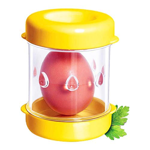Boiled Egg Peeler Egg separators Handheld Specialty Kitchen Tool, Yellow