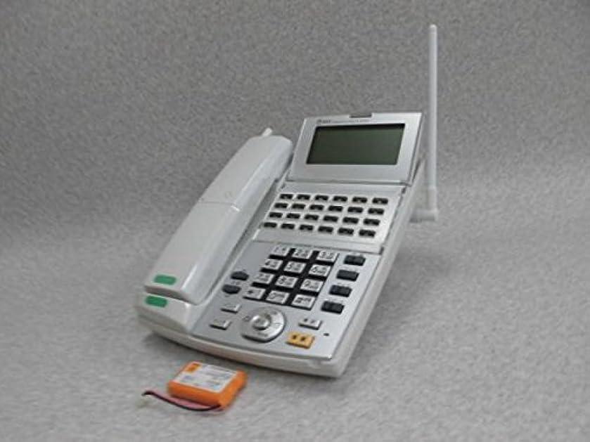 手特異性本当にNX-(24)CCLBTEL-(1)(W) NTT 24ボタン バス カールコードレス電話機